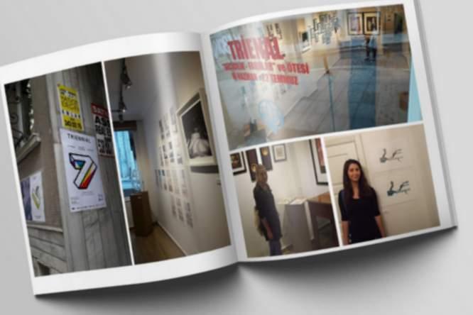 Prace absolwentki Liceum Plastycznego w Krośnie prezentowane w Stambule
