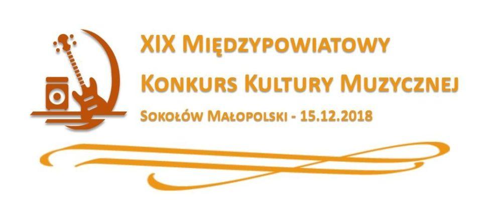 Zapraszamy na XIX Międzypowiatowy Konkurs Kultury Muzycznej