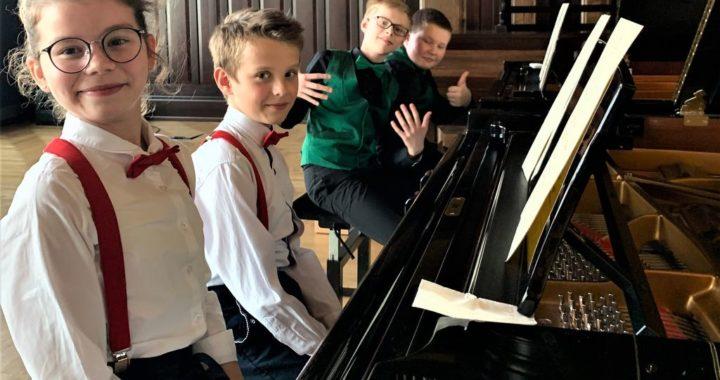 Wielki Sukces uczniów ZPSM sekcji fortepianu I st. w Przemyślu