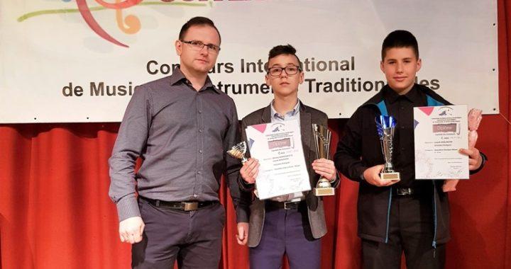 Sukces akordeonistów ZPSM w Jarosławiu na  VI Międzynarodowym Konkursie Akordeonowym w Le Mont Dore