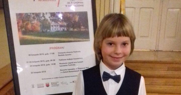 Mikołaj Cyprian Skolimowski – Mały pianista z Dużymi Sukcesami