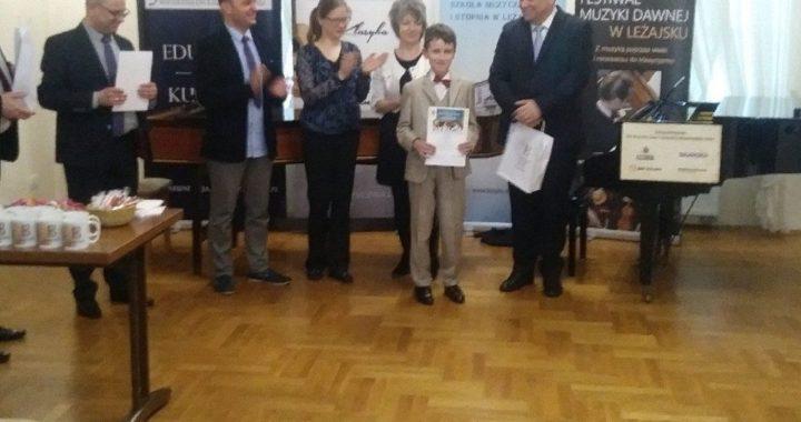 Wyjątkowy i imponujący debiut trębacza z ZPSM w Jarosławiu na XII Ogólnopolskim Festiwalu Muzyki Dawnej w Leżajsku