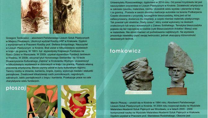 Pokolenia – wystawa nauczycieli Liceum Plastycznego w Krośnie