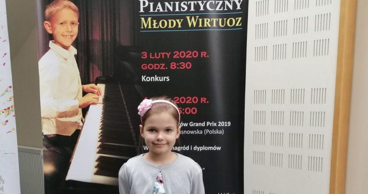 """Sukces Hanny Lesiak na XI Międzynarodowym Konkursie Pianistycznym """"Młody Wirtuoz"""" w Sanoku"""