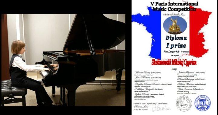 Dyplom z Paryża dla Mikołaja Cypriana Skolimowskiego