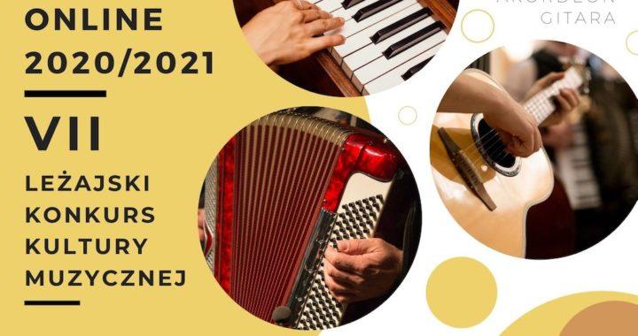 Zapraszamy na VII Leżajski Konkurs Kultury Muzycznej – online 2020/2021