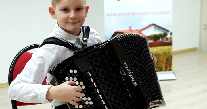 Akordeonista z Pruchnika wygrywa we Włoszech