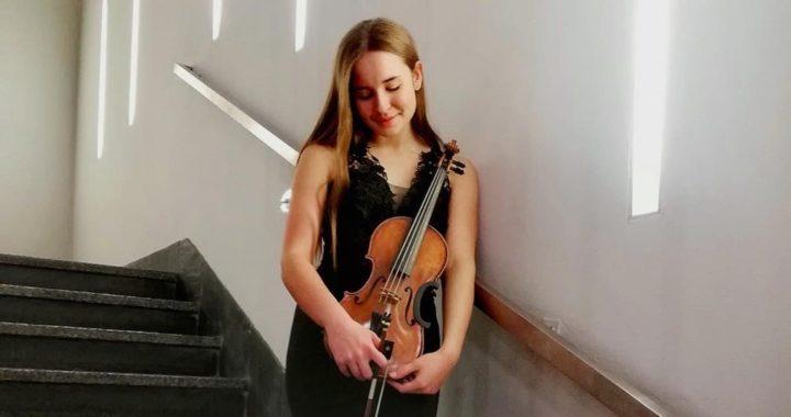 Ogromny sukces młodej skrzypaczki z Sanoka