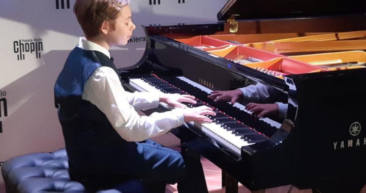 Mikołaj Cyprian Skolimowski z ZSM nr 1 w Rzeszowie zagrał w Polskim Radio Chopin